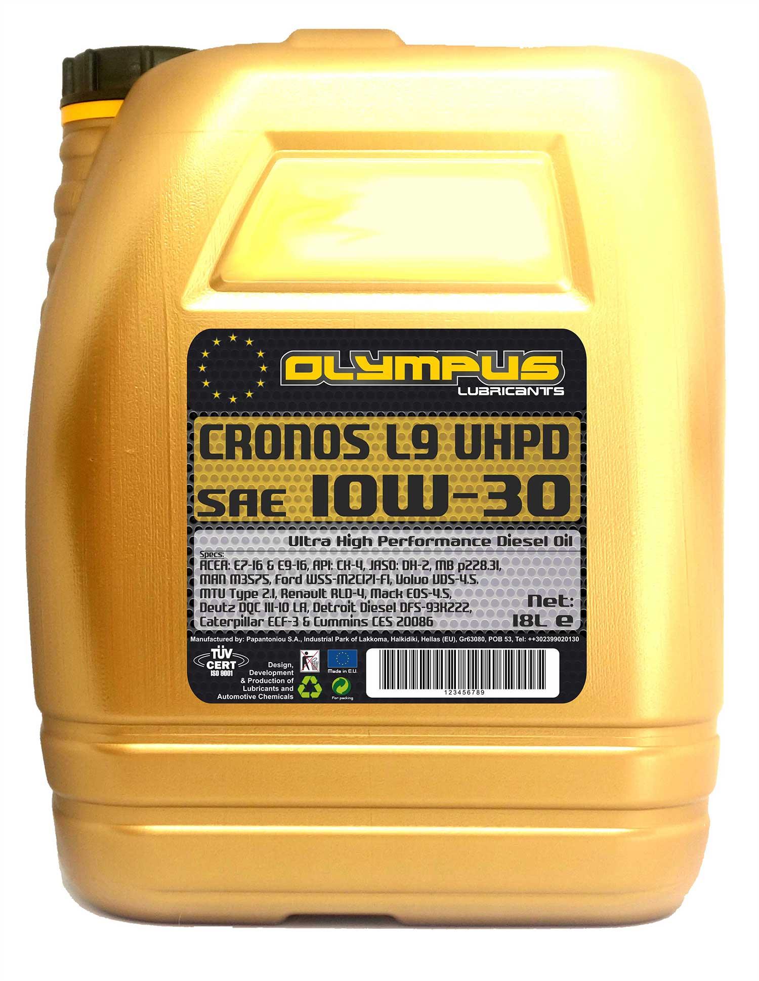 OLYMPUS CL9 10W30 18L